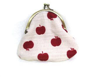 がま口★赤りんご
