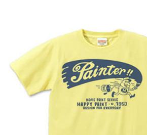 【再販】ペイントマン 片面 S〜XL  Tシャツ【受注生産品】