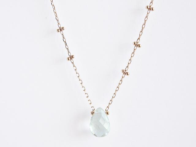 K10 Dew Drop Necklace GR