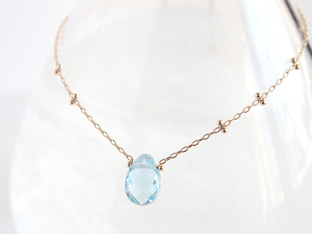K10 Dew Drop Necklace BL