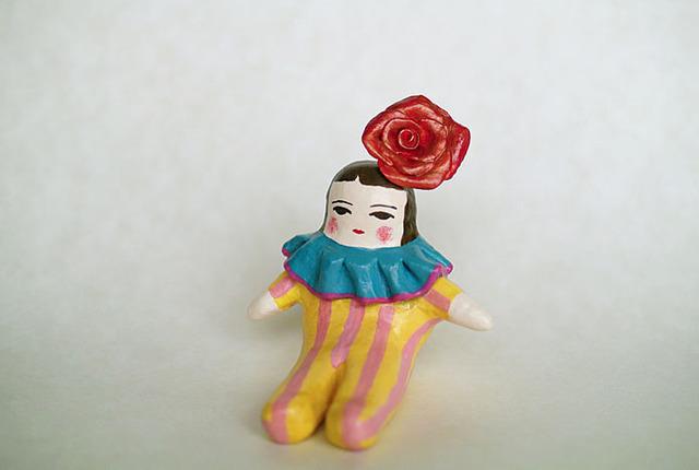 出番待ちの人形