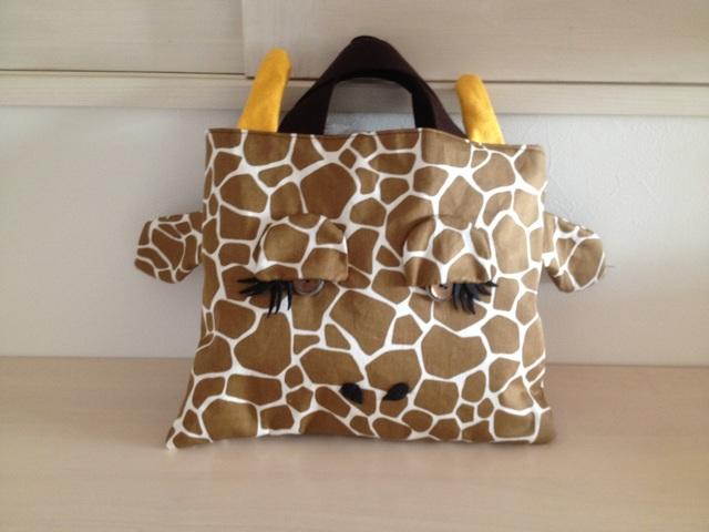 『Mさまオーダー』キリンさんの絵本バッグ