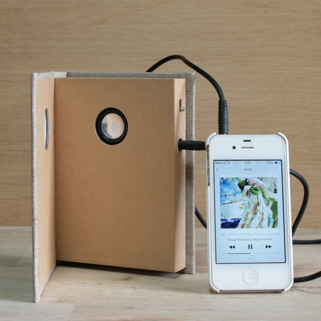 Book Speaker Portable
