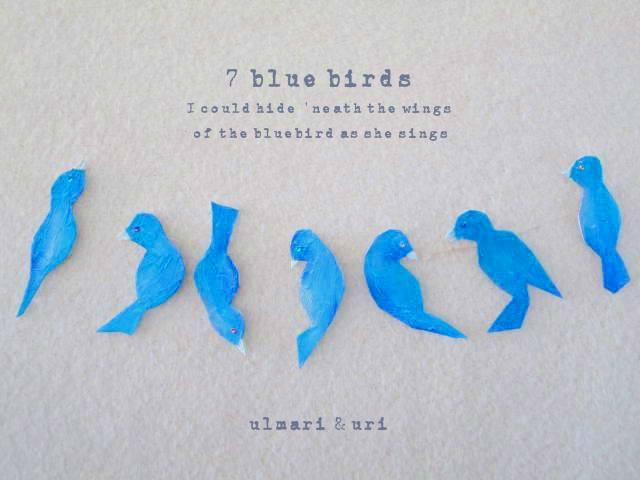 7羽の青い鳥