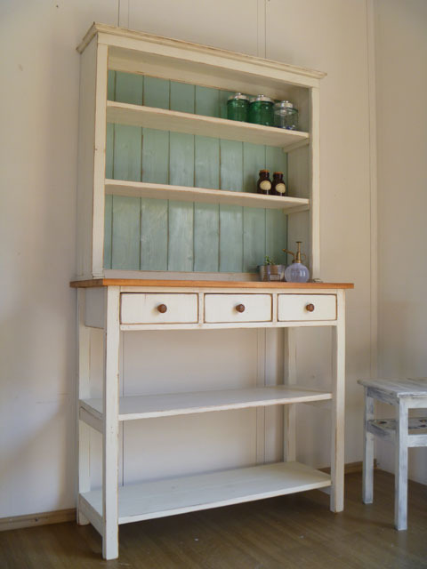 【 open shelf cabinet 】