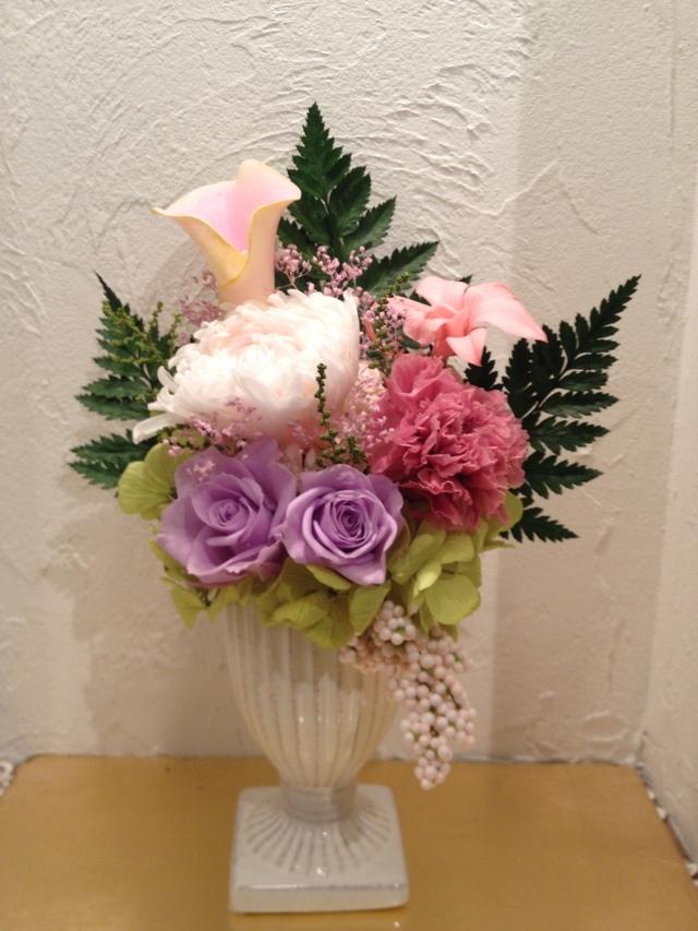 フューネラルフラワー(仏花・供花)?ピンクミルフィーユ