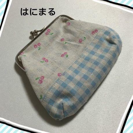 新春クリアランスセール★177 がま口ポーチ