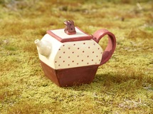 Pouch tea pot