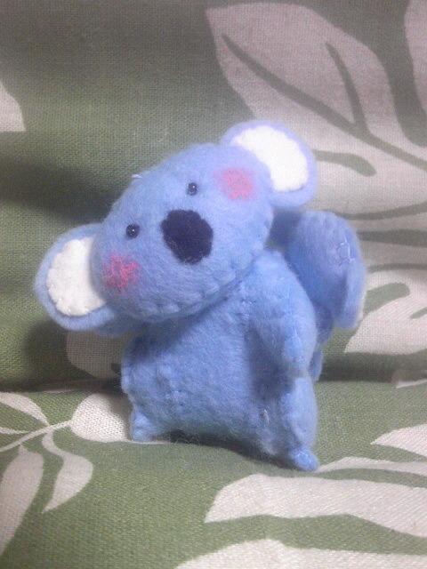 おんぶ☆コアラ(ブルー)