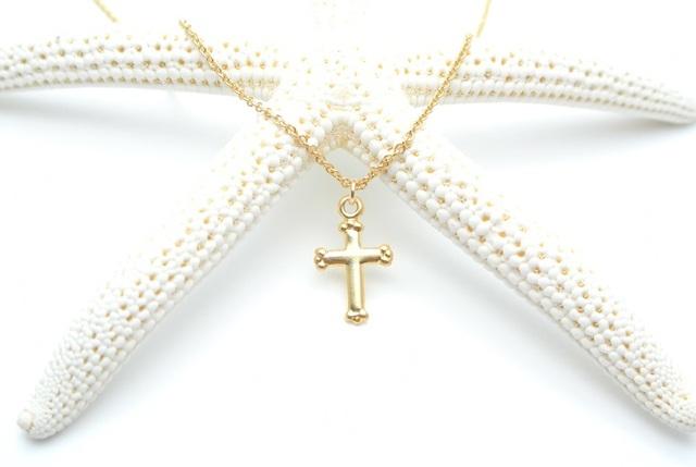 再販【14kgf】クロス(十字架)のネックレス