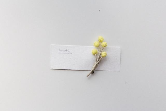 ito tubu brooch【lemon】