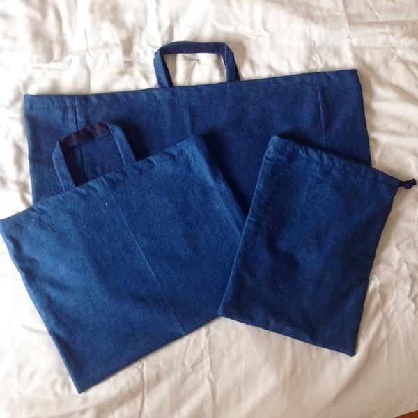 【kさまオーダー】レッスンバッグ・巾着3点セット