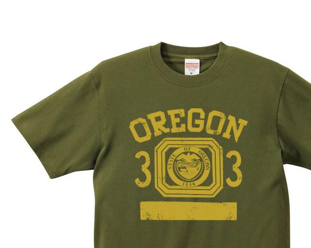 オレゴン 33 オールドスクール風 XS〜XL Tシャツ【受注生産品】
