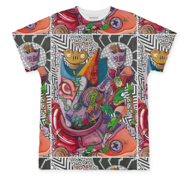 希望の杖 フルTシャツ(Mサイズ)
