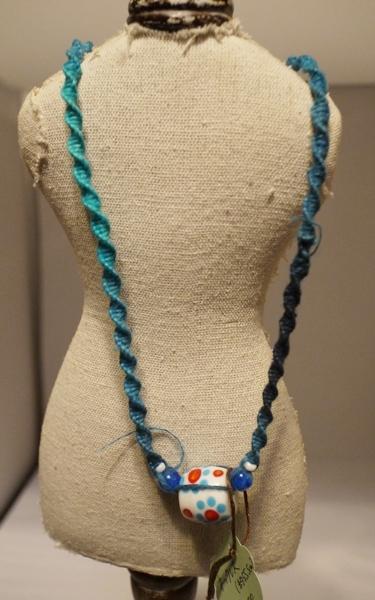 ネックレス 035 ブルー