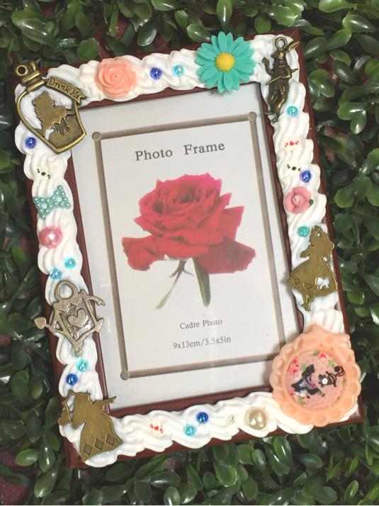 アリスワールドとお花の写真立て