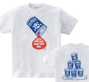 骸骨モーターオイル WM〜WL?S〜XL Tシャツ【受注生産品】
