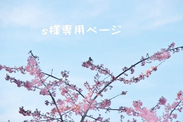 s様専用ページ