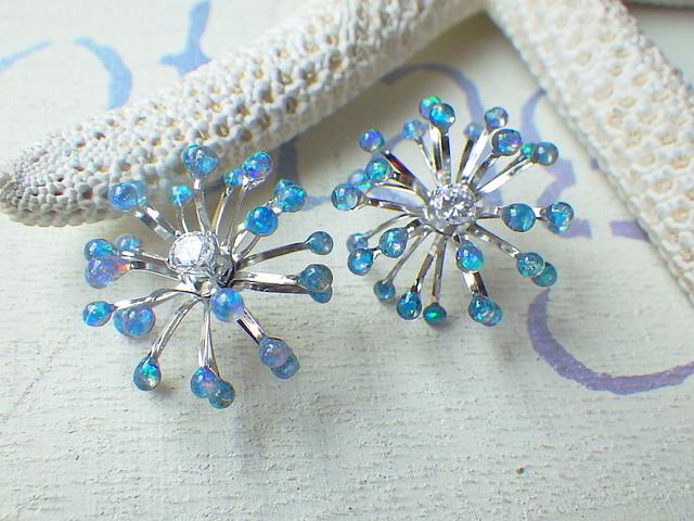 海底の花 A Opal Sea Flowers *sv925*