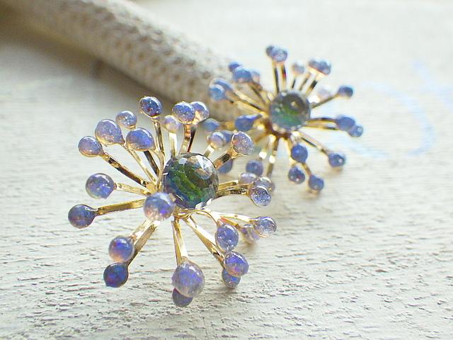 海底の花 B Opal Sea Flower *sv925*