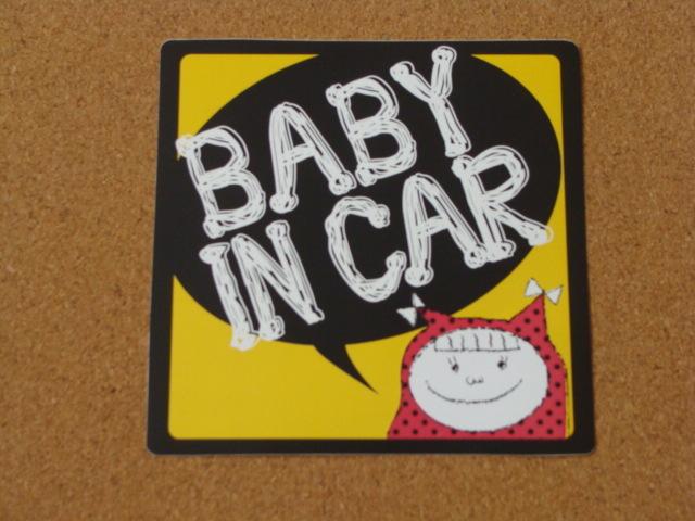 ���ƥå��� BABY IN CAR ���λ�