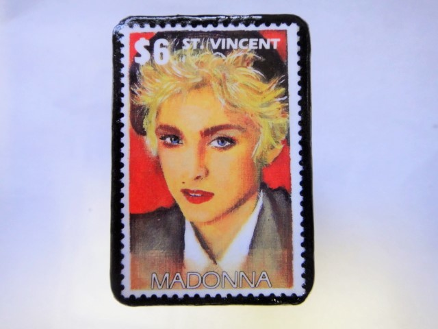 セント・ビンセント 切手ブローチ999