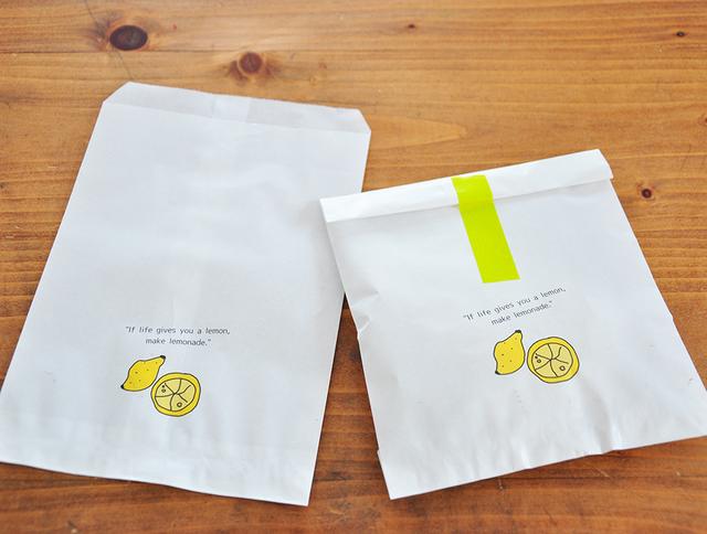 ナニカトつかえるサイズのふくろ、ちょっとちいさめ。?lemon?