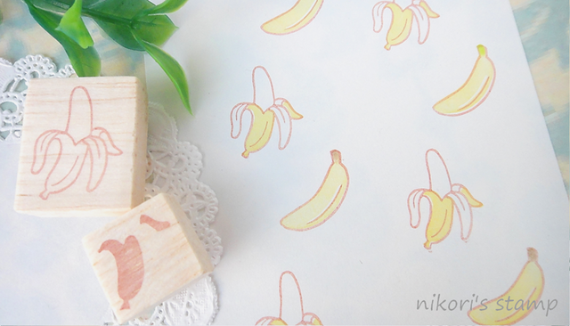 バナナのはんこ?