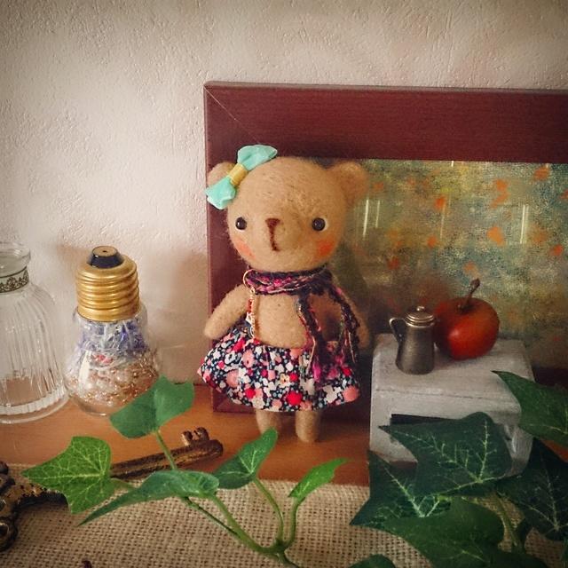 私の部屋に飾るクマNo.17