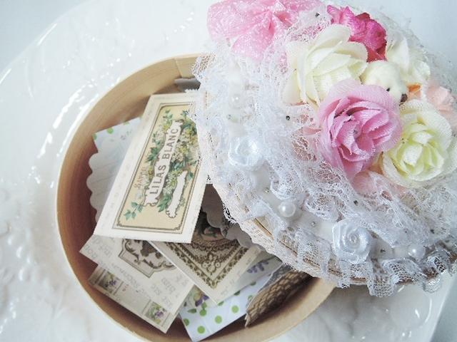 心がワクワクするステーショナリー気まぐれセット☆小さなクマちゃんとお花畑のデコレーションケース付き?(1102)