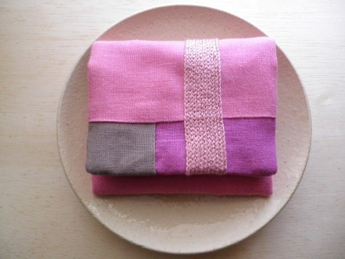 itoiro mini  purse pouch ( pink )