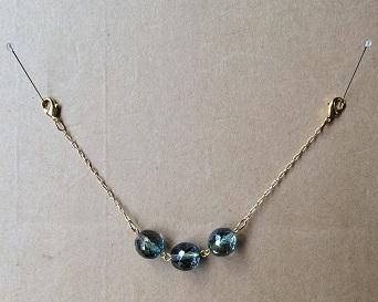 甘露-ブルージルコン 羽織紐