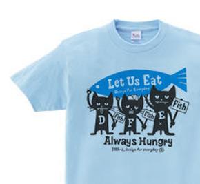 ハングリー・3キャッツ WS〜WM?S〜XL Tシャツ【受注生産品】