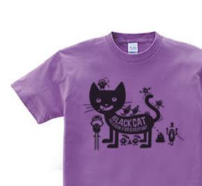 フ?ラックキャット×モンスター WS〜WM?S〜XL Tシャツ【受注生産品】