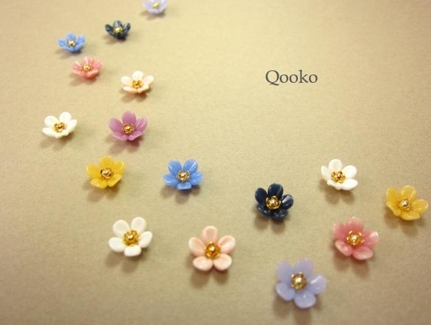 ガラスの花 【オペーク・花びら5枚】