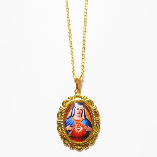 聖母マリア様のネックレス