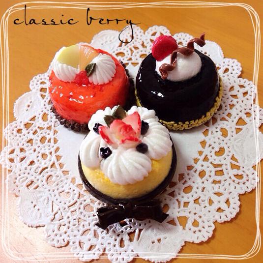 ☆オーダー品☆デコレーションケーキのマグネット