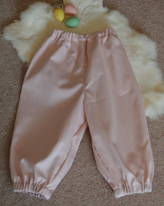 ベビーパンツ(80-90) 優しいベビーピンク色
