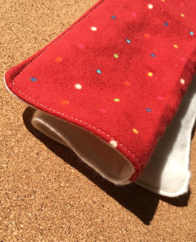 部分防水あり多用途ハンカチ布ナプキンL