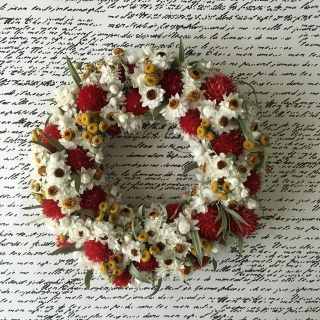 naturel wreath   ストロベリーフィールズ 03