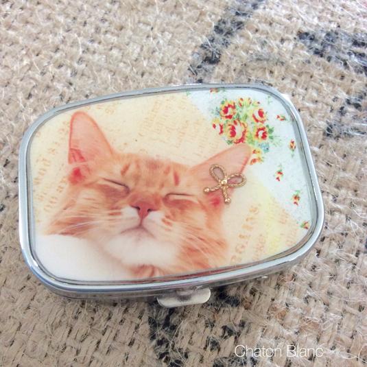 猫ちゃんのサプリメントケース