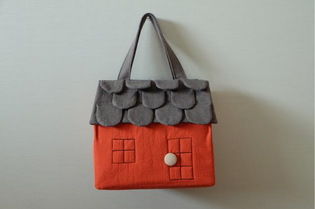 OUCHI box bag M���������������
