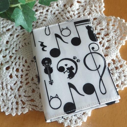 ネコ&ネズミ音楽家のビニコカードケース