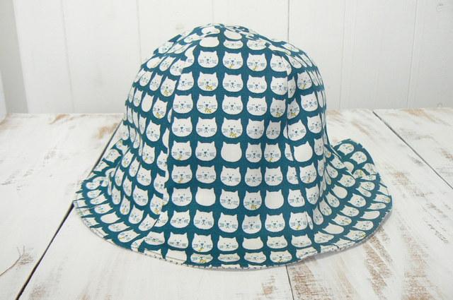 可愛いネコちゃん帽子  (約54cm〜約56cm)再販