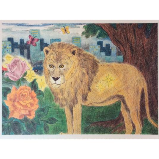 街のライオンポストカードセット