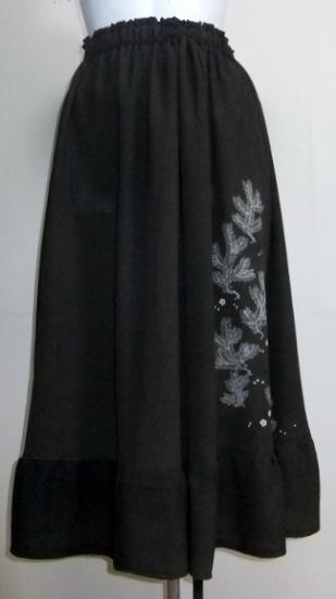 着物リメイク 色留袖で作ったスカート 1294
