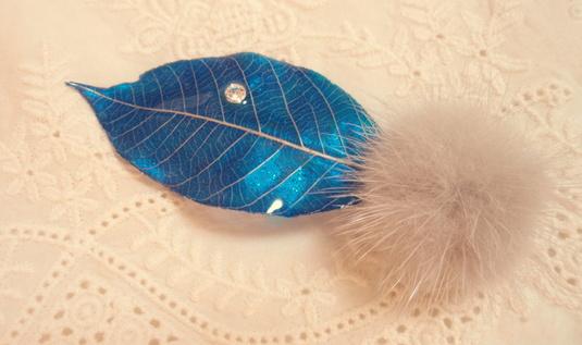 ������̵����Si-Zen ��Leaf  �֥?����blue��mink��