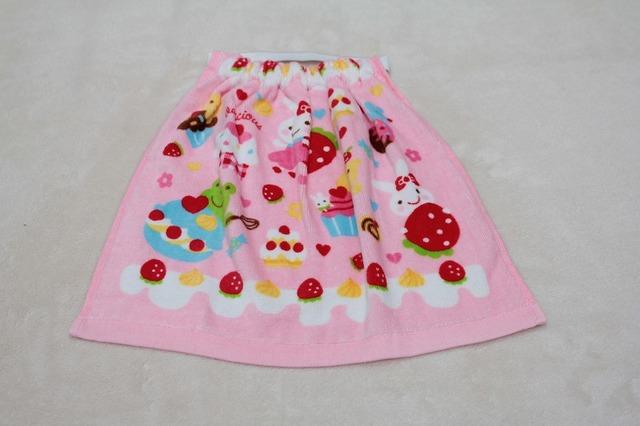 タオルエプロン いちごケーキ