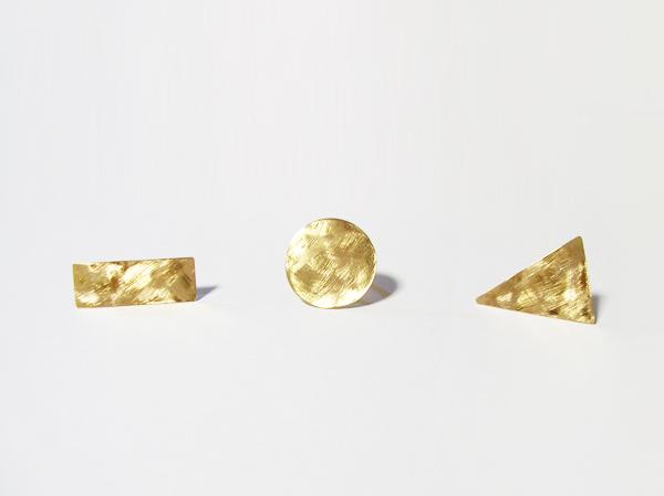 (再販)3つの形の大きい指輪