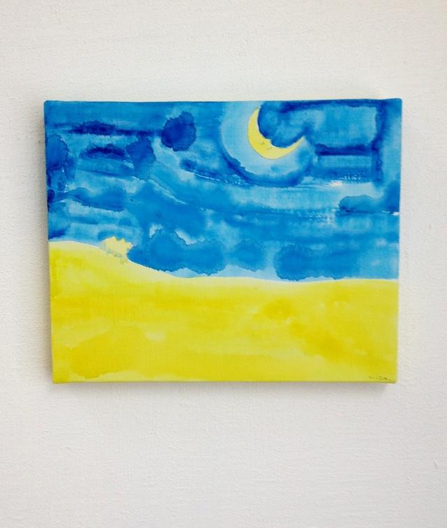 月夜の砂漠2